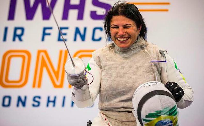 La atleta Mónica Santos se negó a abortar y terminó parapléjica