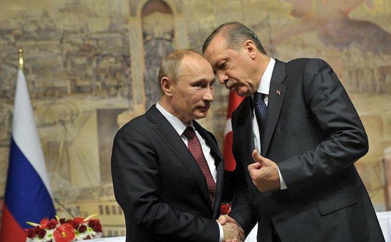 Invitación especial de Putin a Erdogan