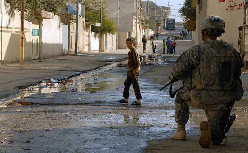 Éxodo masivo de Mosul