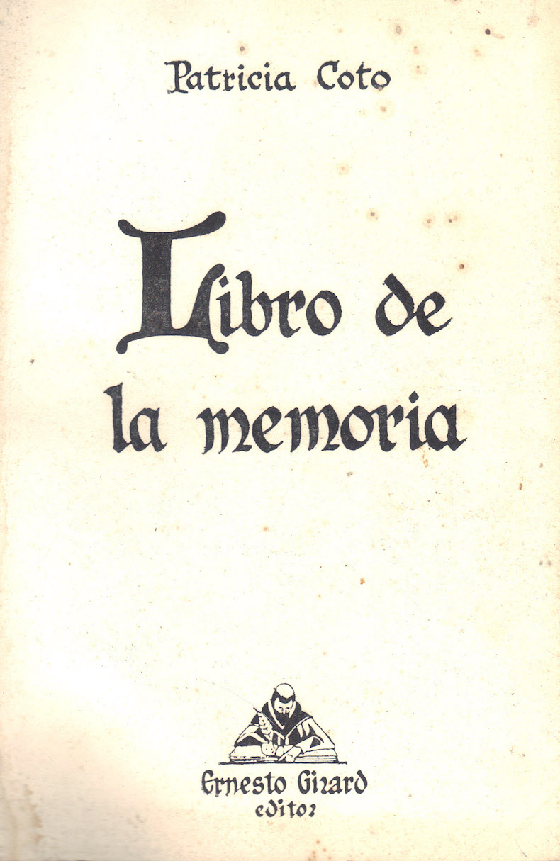 """""""Libro de la memoria"""" (1982)"""