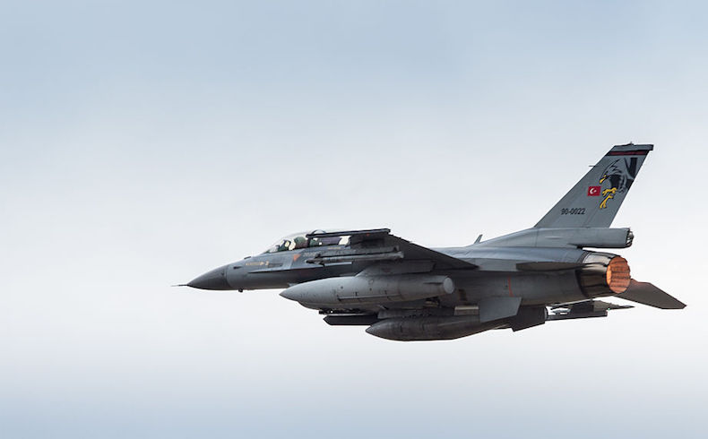 Aviones de la Fuerza Aérea Turca destruyen posiciones del DAESH