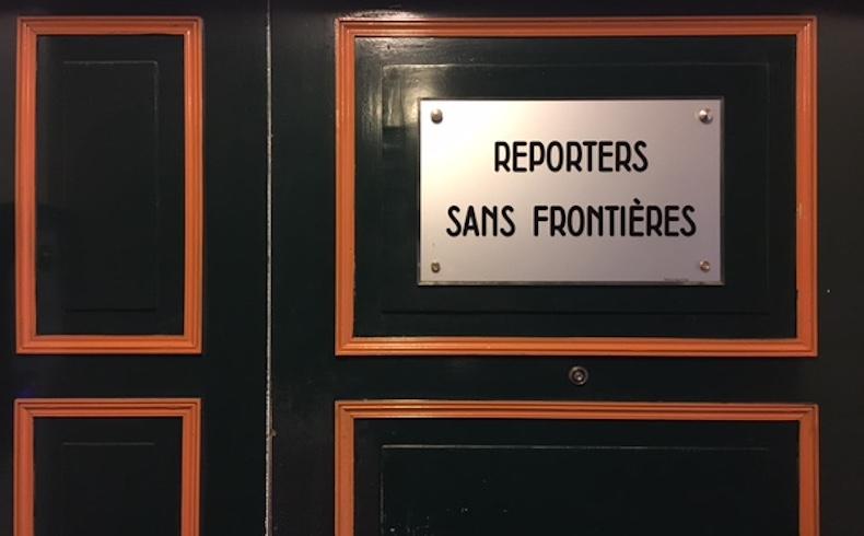 """Reporteros sin fronteras: """"La nueva expresión del periodismo"""""""