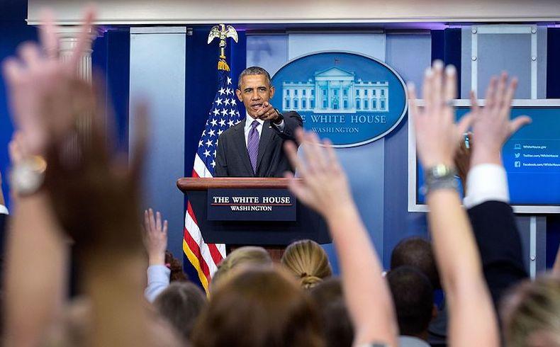 """Obama en última rueda de prensa: """"pies secos/pies mojados"""" ya no tenía sentido"""