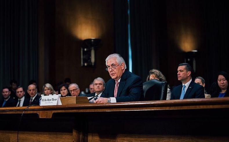 Tillerson destaca importancia de relaciones firmes y constructivas entre EEUU y China