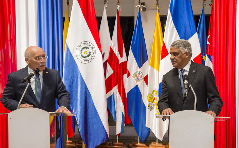 Paraguay: Canciller de la República Dominicana suscribe Instrumentos Internacionales