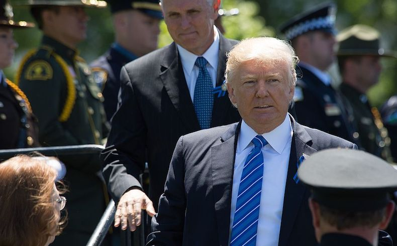 Espectáculo Trump