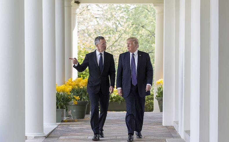 ¿Es posible una escisión en la OTAN con Donald Trump?