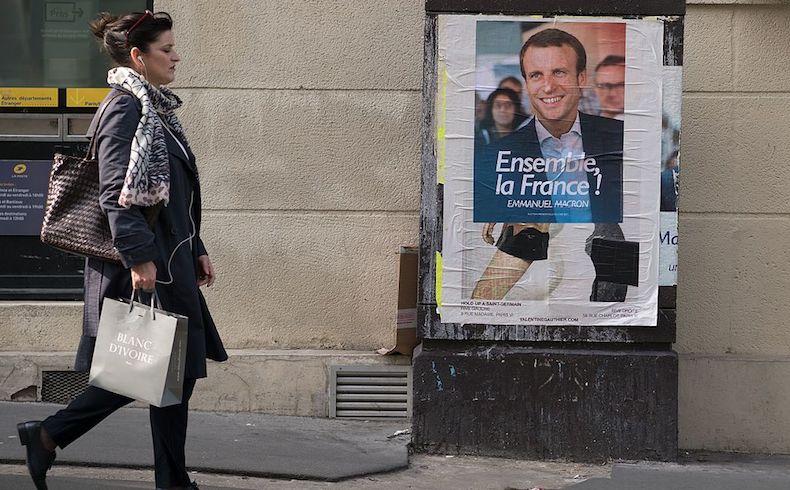 Líderes del mundo felicitan a Macron y esperan poder trabajar con él