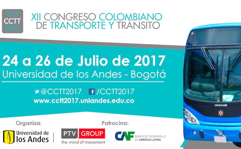 Bogota organiza el XII Congreso Colombiano de Transporte y Transito