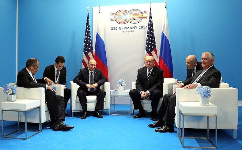 ¿Han firmado Putin y Trump la salida de Al Asad de Siria?