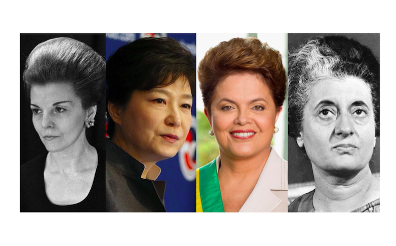 Las 4 mujeres presidentes que no tuvieron un final feliz, ¿maldición del machismo político?