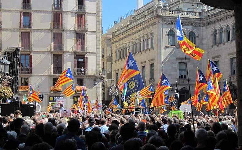 Declaración de independencia en Cataluña
