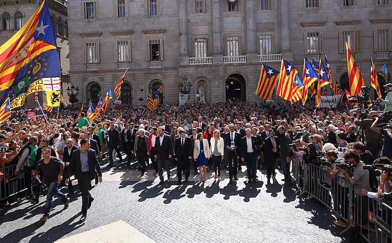 Descontrol total en Cataluña