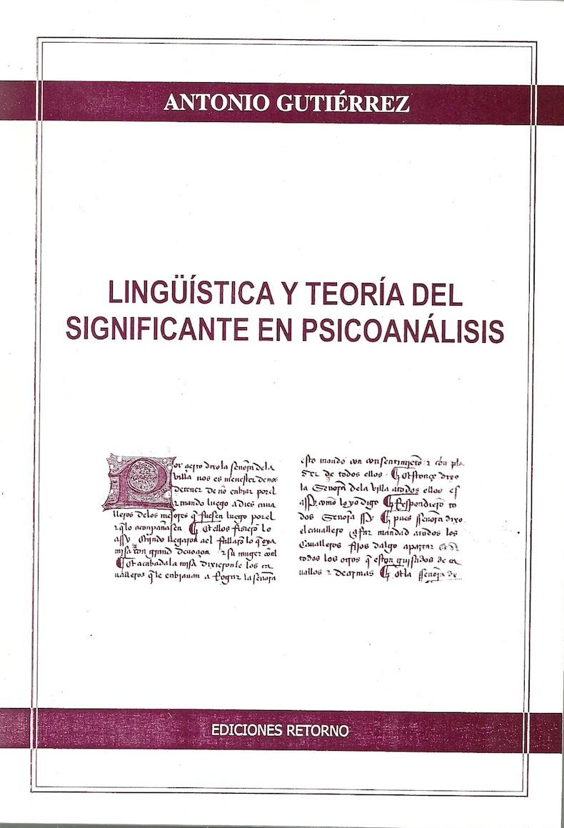 """""""Lingüística y teoría del significante en psicoanálisis"""" (2010)"""