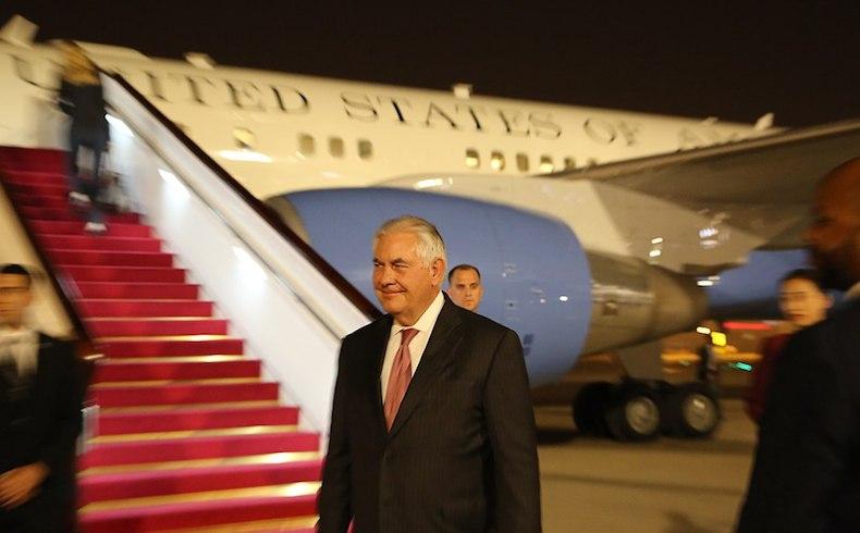 Rex Tillerson visitará Medio Oriente, sur de Asia y Europa