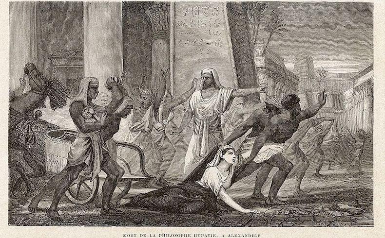 Hipatia, filósofa de Egipto