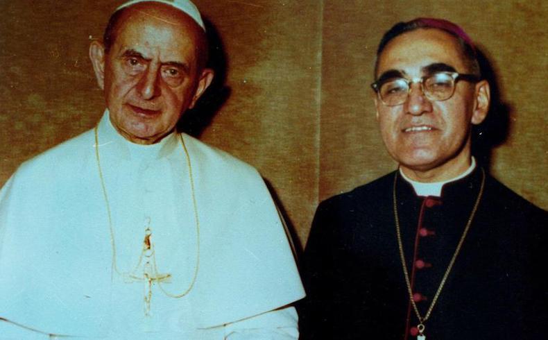 Pablo VI y Monseñor Romero por los no nacidos