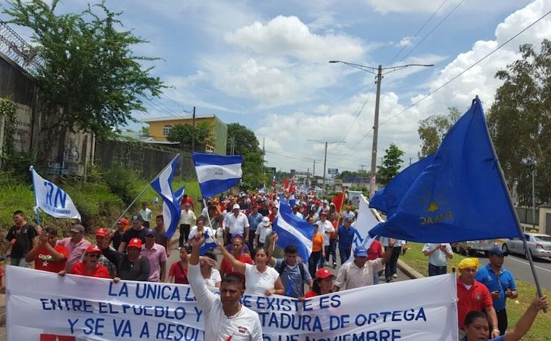 Nicaragua sigue luchando por la democracia