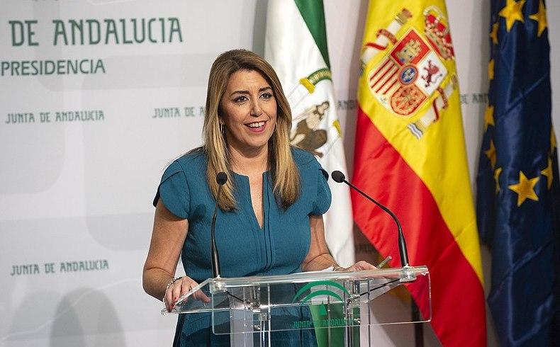 Cambio político andaluz