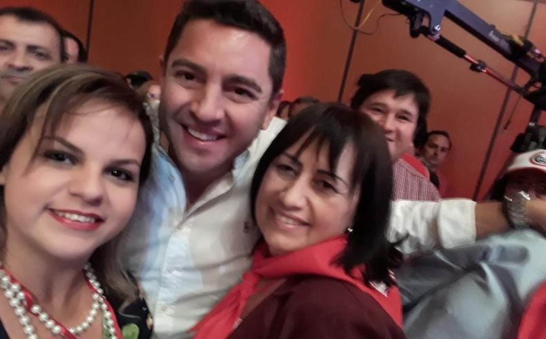 Paraguay: Lanzan precandidaturas de Damas Coloradas en Pilar
