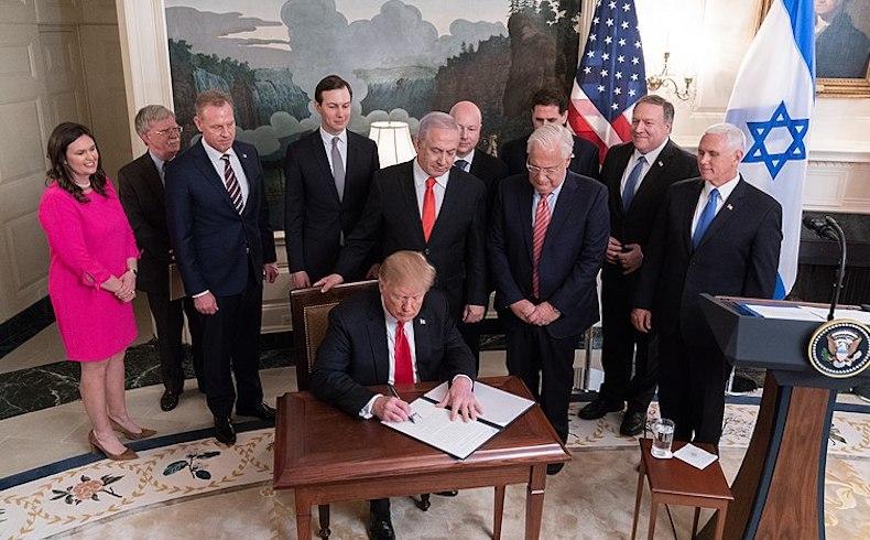 Atentando contra una regla esencial en derecho internacional: a propósito de la reciente decisión de Estados Unidos sobre los Altos del Golán