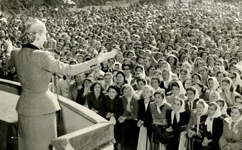 Eva Perón. El pueblo: La razón de su vida