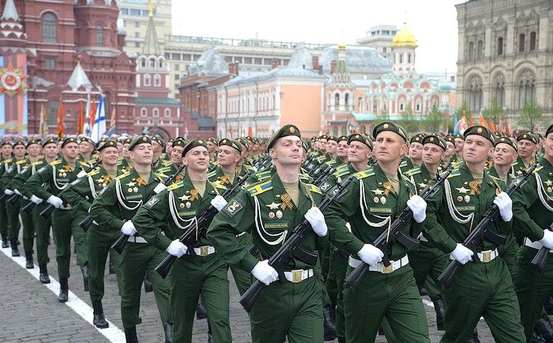 Rusia realiza desfile militar para celebrar Día de la Victoria