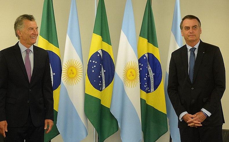Visita de Estado del Sr. Presidente de Brasil, Jair Bolsanaro al Sr. Presidente Mauricio Macri, junio de 2019, Buenos Aires, Argentina