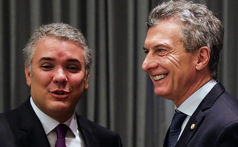 Visita de Estado del Sr. Presidente de Colombia Iván Duque al Sr. Presidente Mauricio Macri