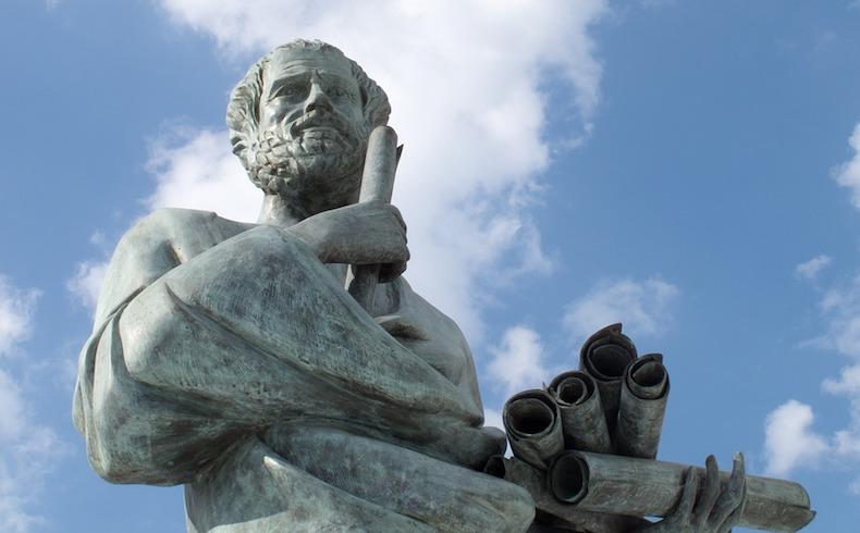 Sócrates y la prisión estatal del ágora de Atenas