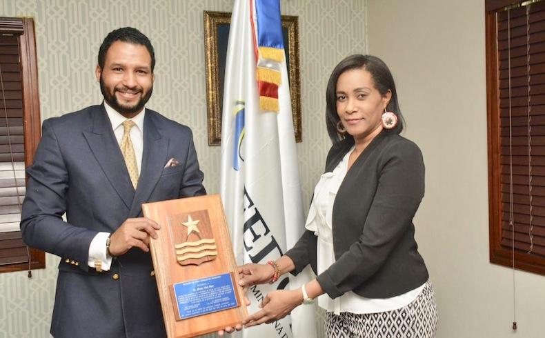 Reconocen a Geovanny Vicente Romero en la Federación Dominicana de Municipios (FEDOMU)