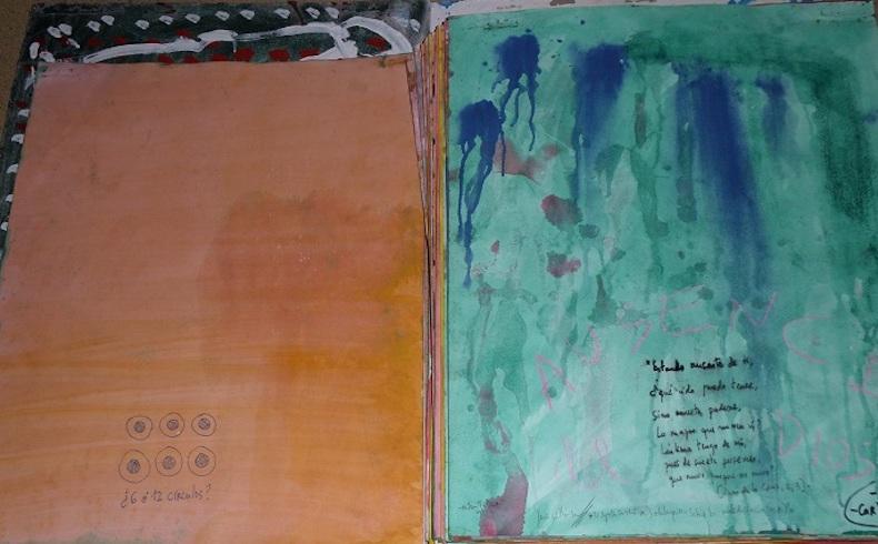 Libro de Artista: Poemas San Juan de la Cruz de Puebla de Cazalla