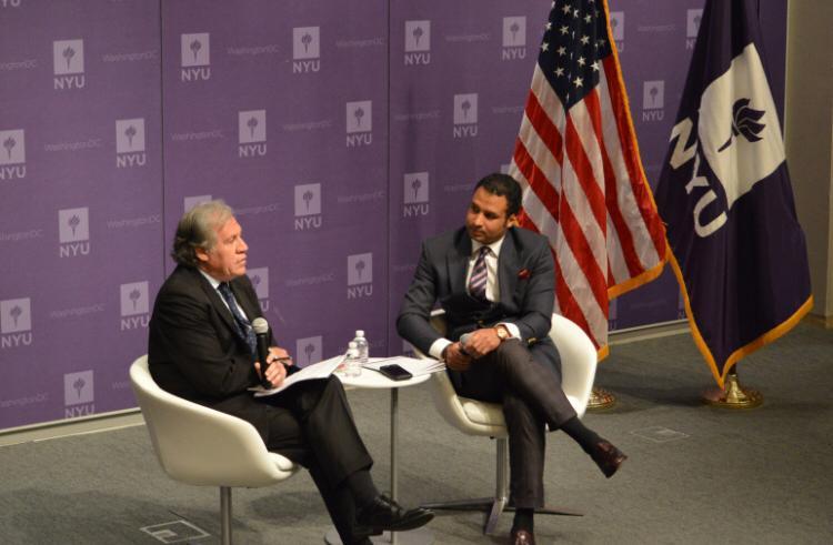 Geovanny Vicente Romero en Washington felicita a Luis Abinader, nuevo presidente de la República Dominicana
