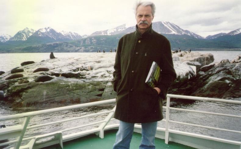 Santiago Sylvester 29 – en Ushuaia, Tierra del Fuego, 2000