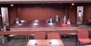 Just seven people were in the audience at the House Budget and Fiscal Oversight Committee Hearing, but online streaming drew another 45 viewers.