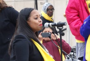 "Keisha Knight-Pulliam, who was Rudy Huxtable on ""The Cosby Show,"" championed school choice at the National School Choice Week Rally Wednesday."