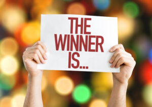 Announce your text to win winner with text ALN