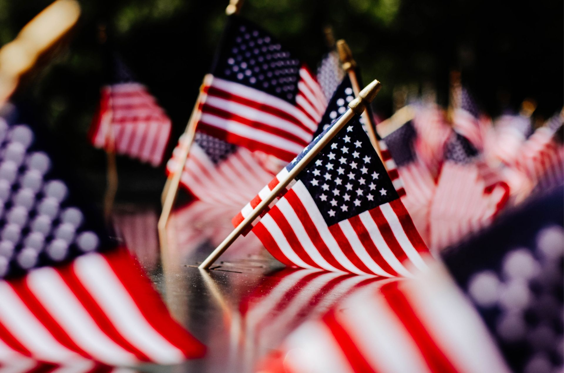 Fourth of July Holiday Flagging Fundraiser
