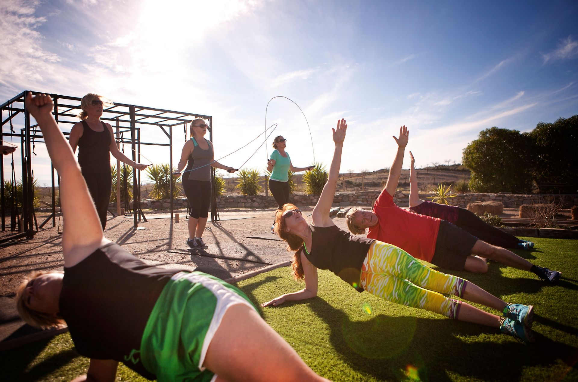 Fitness Boot Camp Fundraiser