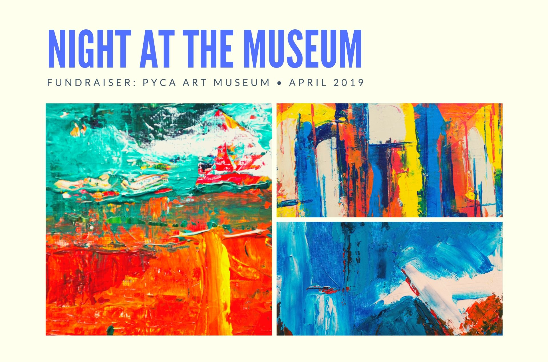 Night at the Museum Fundraiser