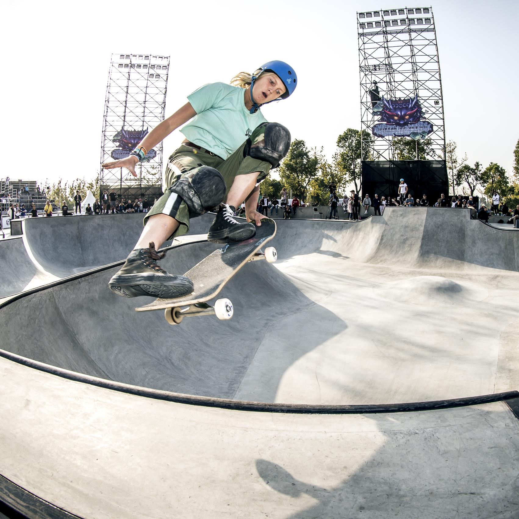 Bryce Wettstein USA Skateboarding