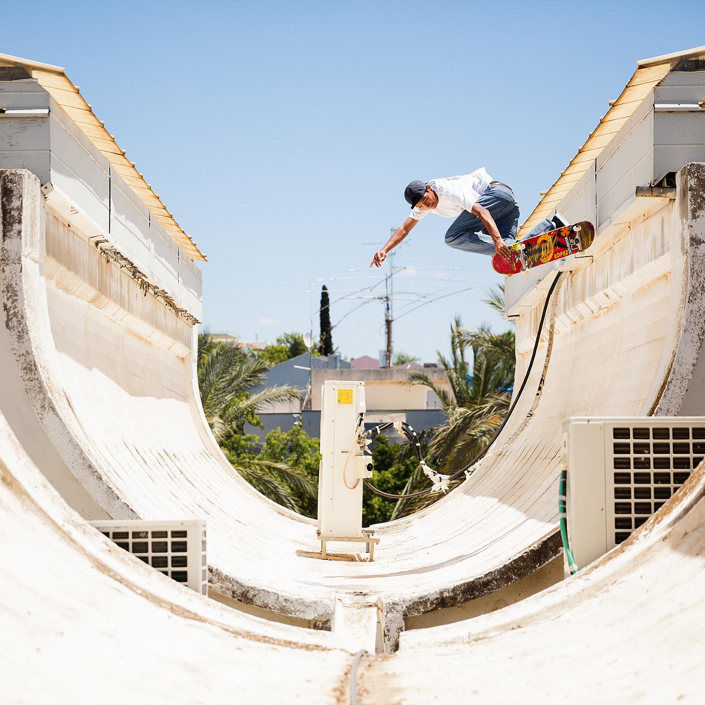 louie lopez usa skateboarding