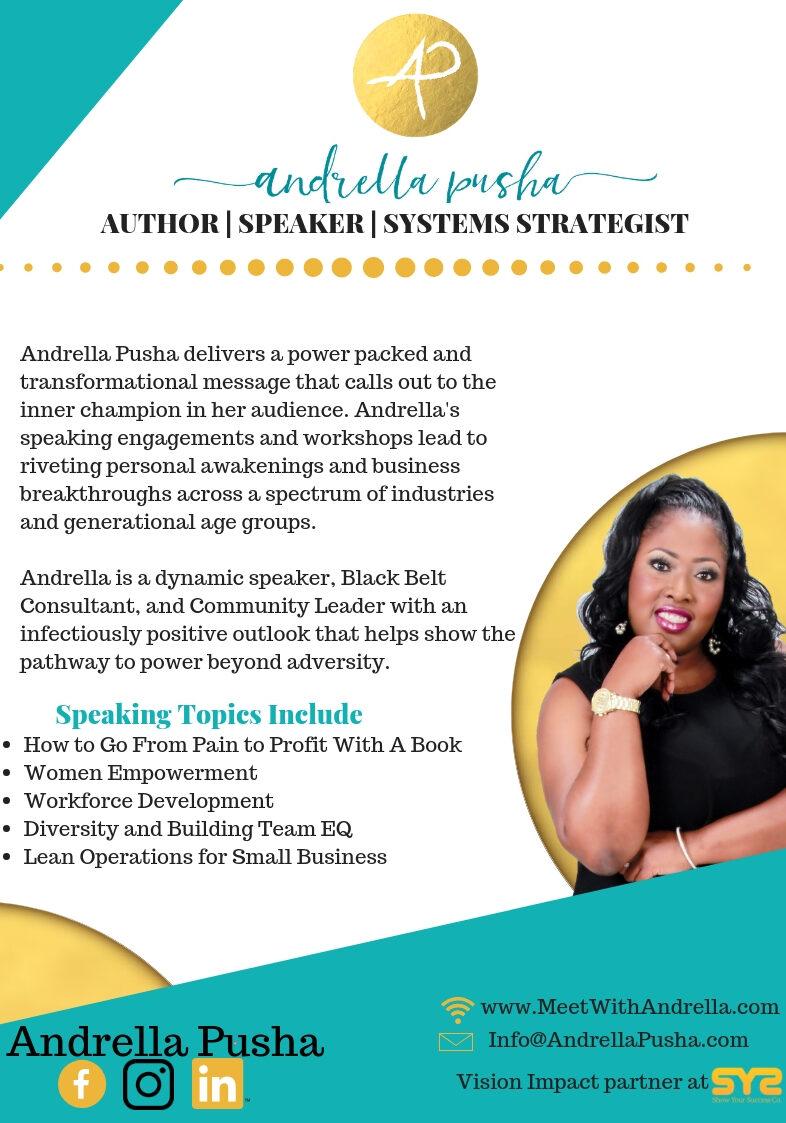 Andrella Pusha | Mindset Reset Experience | Naomi Jones | Hampton, VA | Event | Speaker | Nurse | Strategist