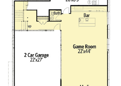 Alliance Floor Plan Basement