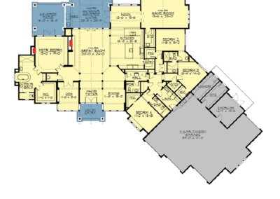 The Aspen Floor Plan