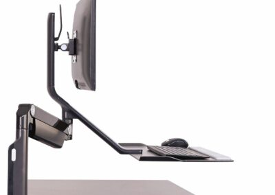 Humanscale Sit Stand Monitor Arm quickstand lite_b_side_2500