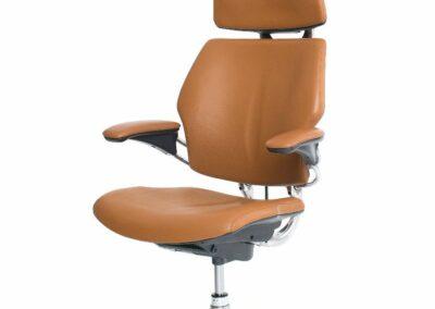 Humanscale freedom w headrest Task Chair_tan_q_3000