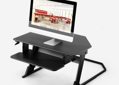 Neutral Posture Sit Stand StandUp-X1_Corner