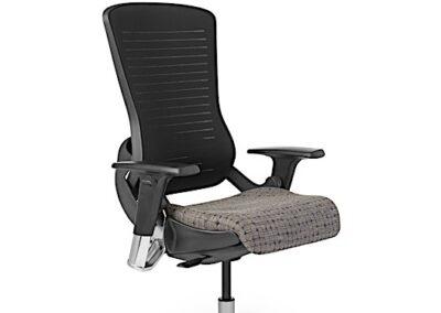 Office Master OM5-BEX Task Chair (Modern Black-Exec)_2