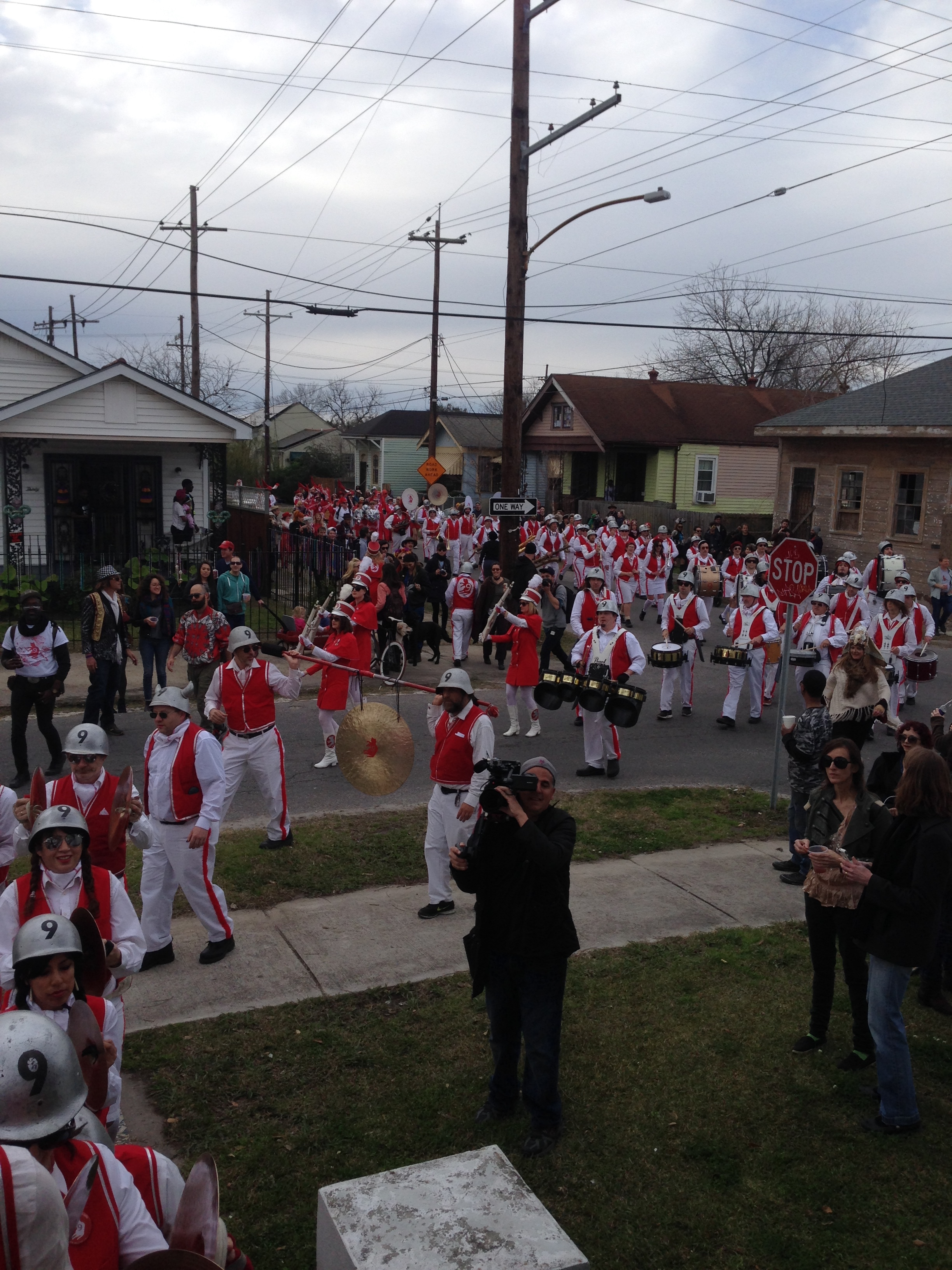 9TH WARD MARCHING BAND ENTER RECORDING!